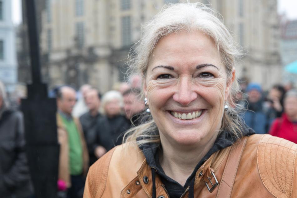 Ex-Stadträtin Barbara Lässig (63) vom Fernsehturm-Verein.