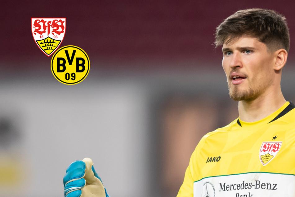 Borussia Dortmund an Gregor Kobel vom VfB interessiert