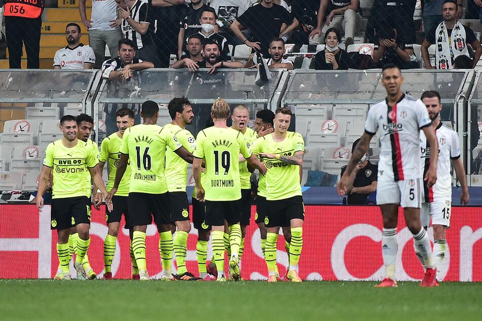 Erstes Spiel in der neuen Champions-League-Saison, erster Sieg für den BVB!