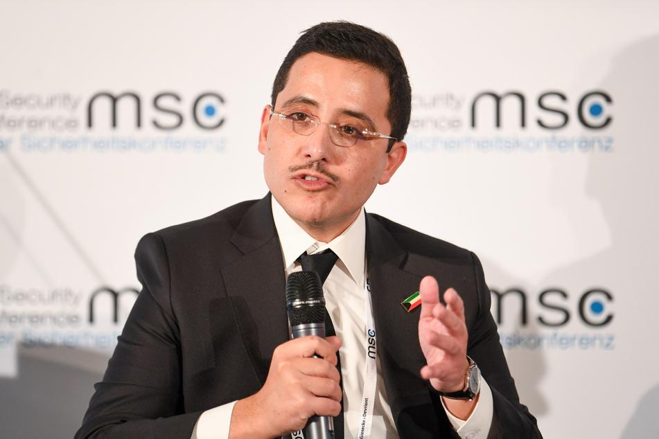 Ahmed Nassir al-Mohammed al-Sabah, Außenminister von Kuwait.