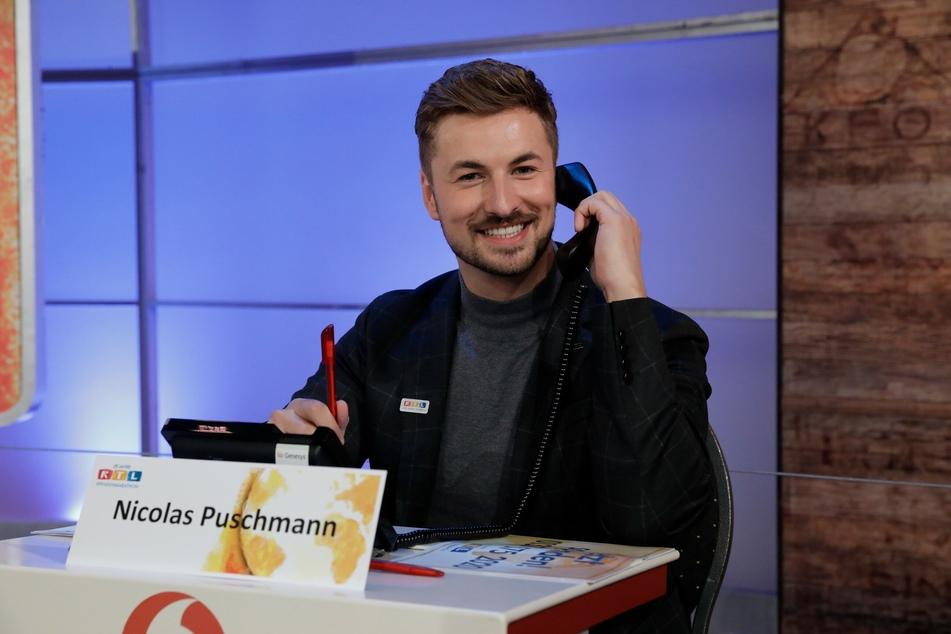 Nicolas Puschmann (29) setzt sich beim RTL-Spendenmarathon für notleidende Kinder ein.