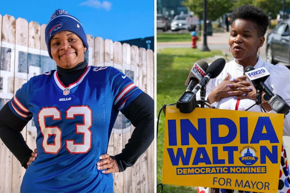India Walton compared to KKK leader in shocking outburst by New York Democratic Party chair