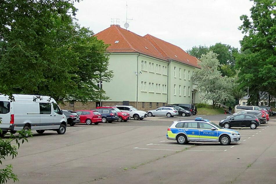 """Die """"Korruptionszentrale"""" - die einstige Dienststelle der """"ZentraB Fahrrad"""" an der Leipziger Hans-Driesch-Straße."""