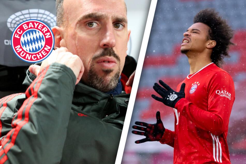 Was ist nur los mit Leroy Sané? Franck Ribéry hat klare Forderung an Bayern-Star