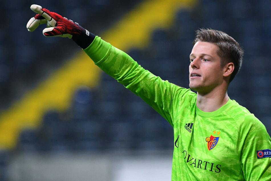 Jonas Omlin (26) steht beim FC Basel zwischen den Pfosten.