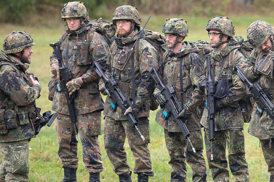 Soldaten in Baden-Württemberg: Sie sollten in der Corona-Krise aushelfen. (Symbolbild)