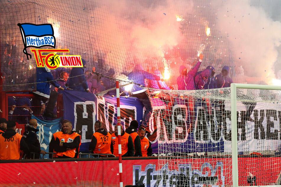 Weniger gewaltbereite Fans in Berlin: Hertha BSC liegt vor Union