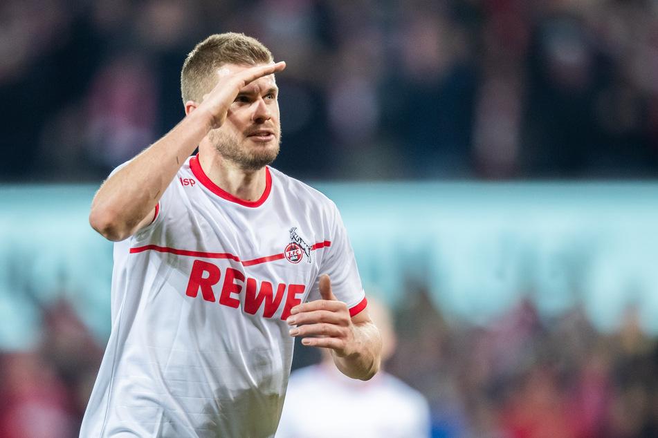 Stürmer Simon Terodde (32) spielt seid Anfang 2018 für den 1. FC Köln. (Archivbild)