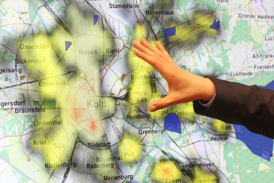 """Die Software """"Skala"""" entwickelt Prognosen darüber, in welchen NRW-Gebieten ein erhöhtes Einbruchsrisiko besteht."""