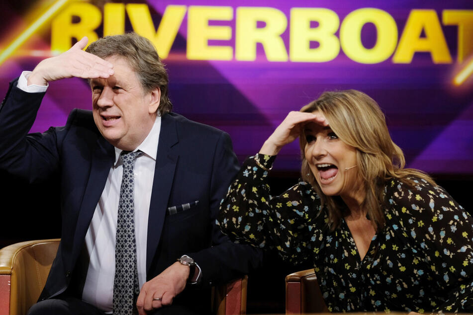 Was ist los im Riverboat? Kim Fisher will aus dem Studio stürmen