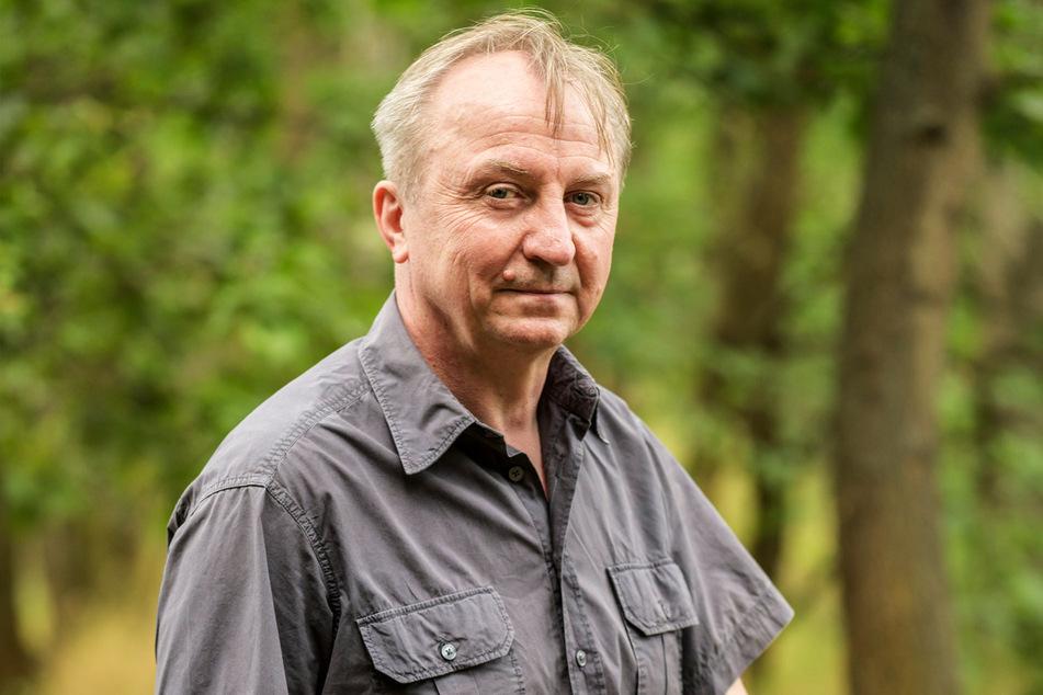 Tobias Mehnert (58) ist Vorsitzender vom Naturverband Sachsen.