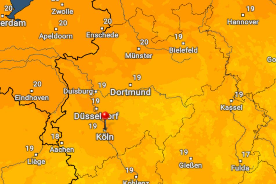 Am Dienstag sollen die Temperaturen mancherorts in NRW die 20-Grad-Marke knacken.