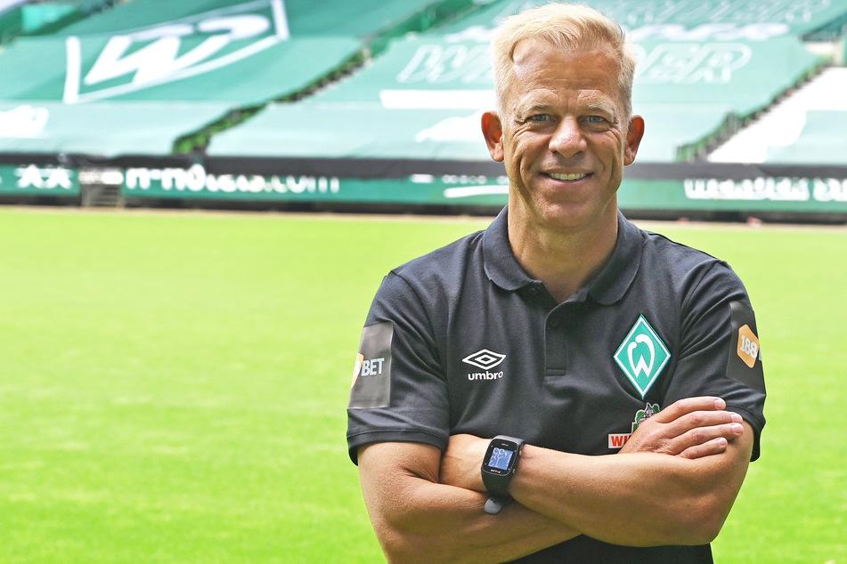 Markus Anfang (47, Vertrag bis 2023) soll den sportlichen Wiederanfang beim SV Werder Bremen angehen.