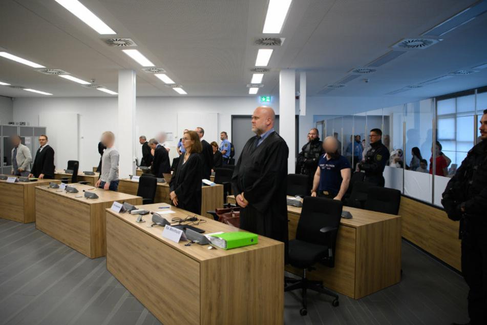 Im Hochsicherheitsgericht am Hammerweg wurden am Mittwoch die Urteile über die Tschetschenen gesprochen.