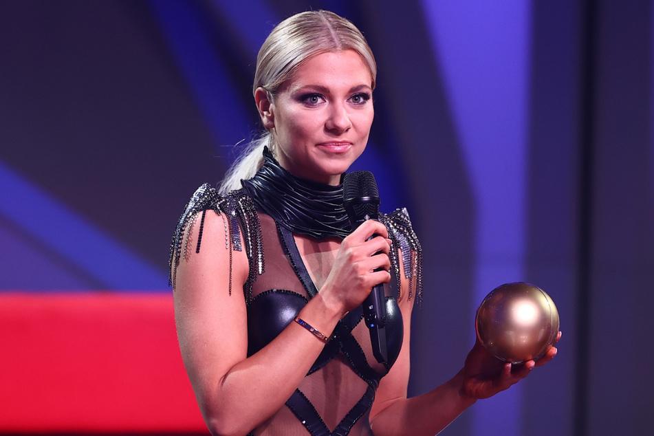 Valentina Pahde (26) belegte bei Let's Dance den zweiten Platz. Den Sieg holte sich Rúrik Gíslason.