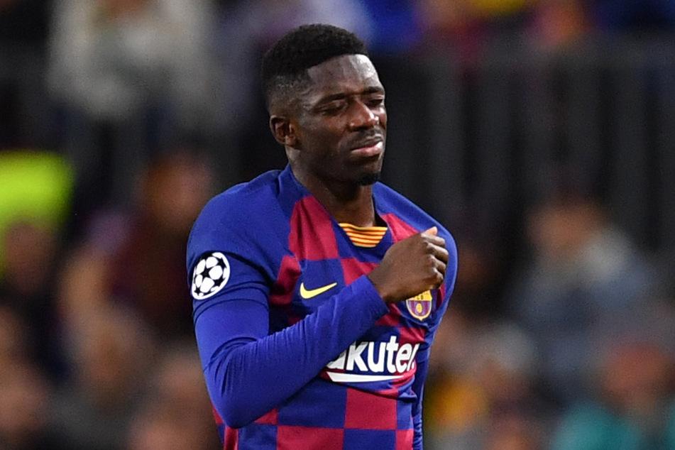 Überzeugte in Barcelona nie vollends: Ousmane Dembélé (23).