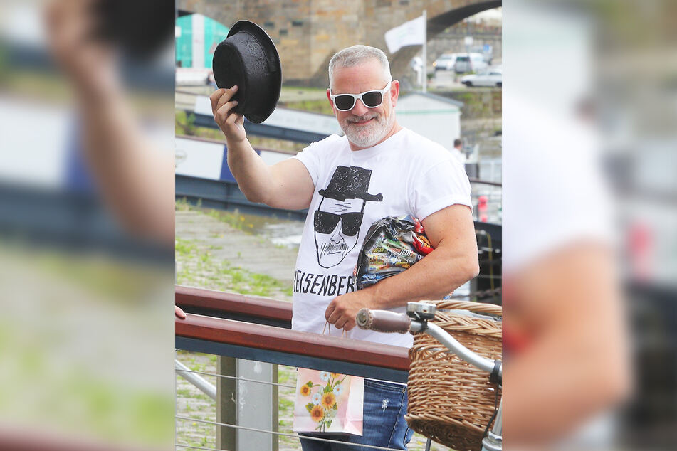 Veranstalter Ralf Koppetzki (45) freut sich, dass er am 26. Juni ablegen darf.