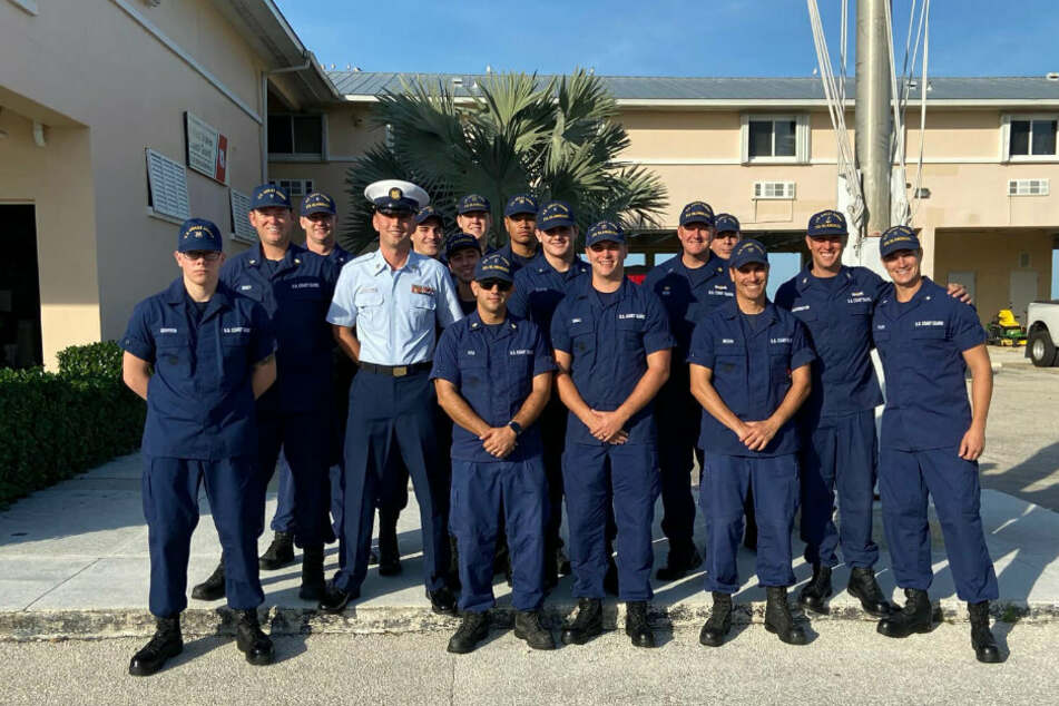 Islamorada's coast guard ensures safety on the high seas.