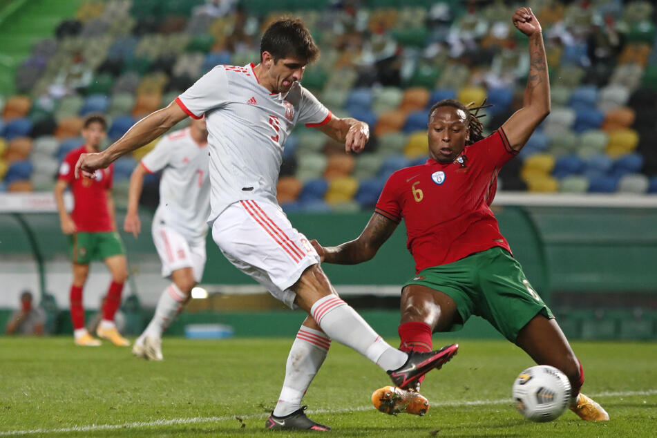 Semedo (r.) spielte sogar dreimal für die portugiesische A-Nationalmannschaft.
