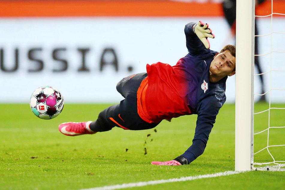 Josep Martínez (22) ist derzeit nur im Training oder beim Aufwärmen vor Spielen gefordert, soll aber potenzieller Nachfolger von Péter Gulácsi (30) werden.