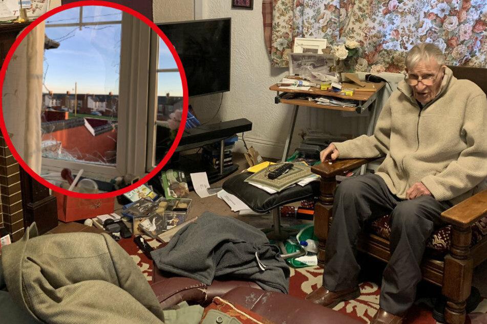 Kurz vor Weihnachten: Edwin (94) wird Opfer eines herzlosen Diebstahls