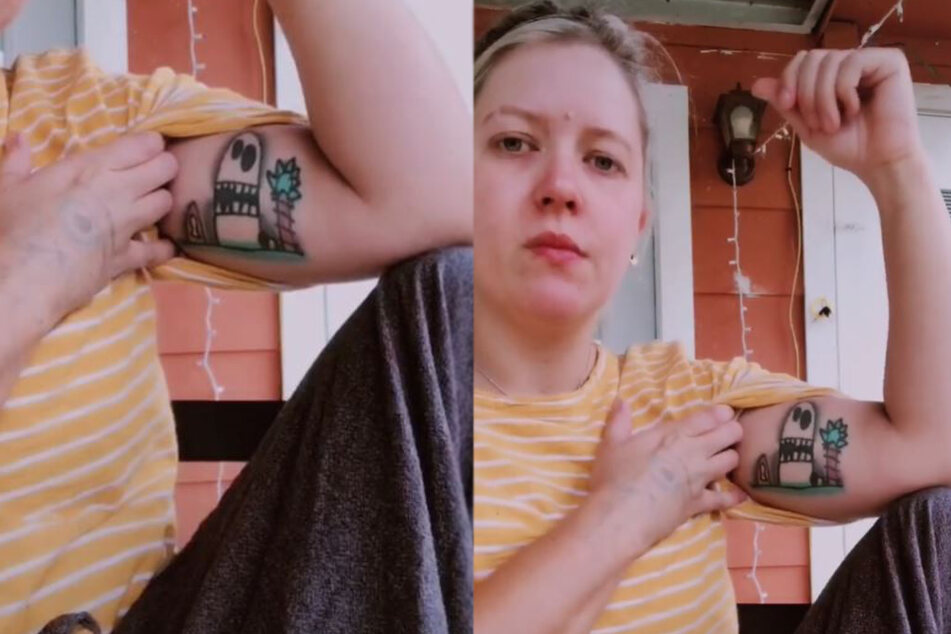 Hilarious tattoo fail! Mom thinks she's honoring her son until she makes an unwelcome discovery