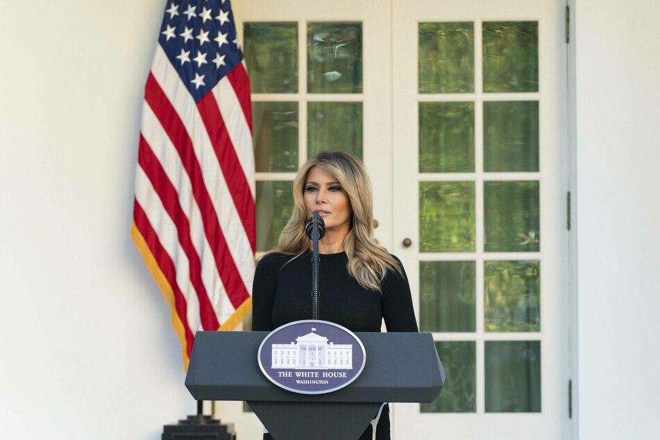 Melania Trump (50) broke her five-day silence and addressed Wednesday's shocking events.