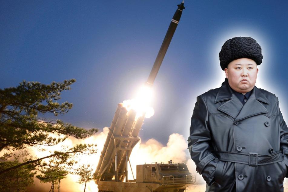 "Dreht Kim Jong Un jetzt durch? Nordkorea prahlt mit""super großem Raketenwerfer"""