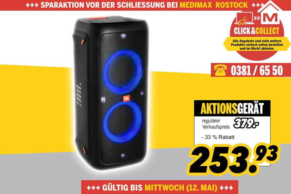 Partybox 200 von JBL für 253,93 Euro
