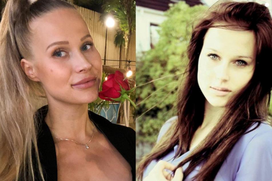 Früher trug Bachelor-Babe Leah Marie ihre Haare dunkel.