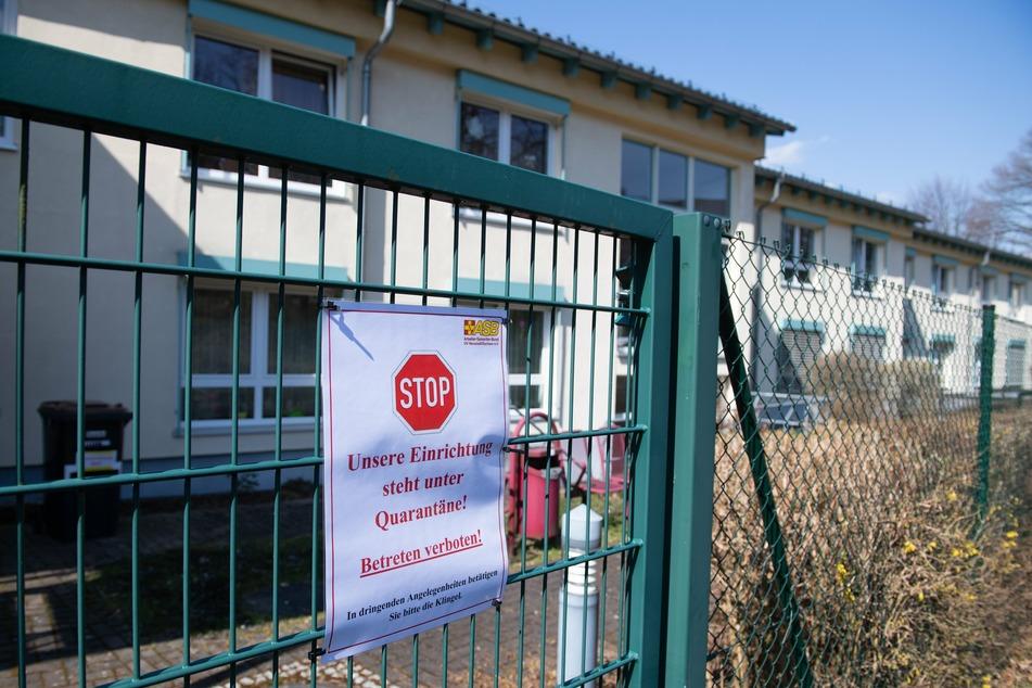 Das Seniorenpflegeheim in Hohnstein verzeichnet eine Vielzahl von Corona-Infektionen.