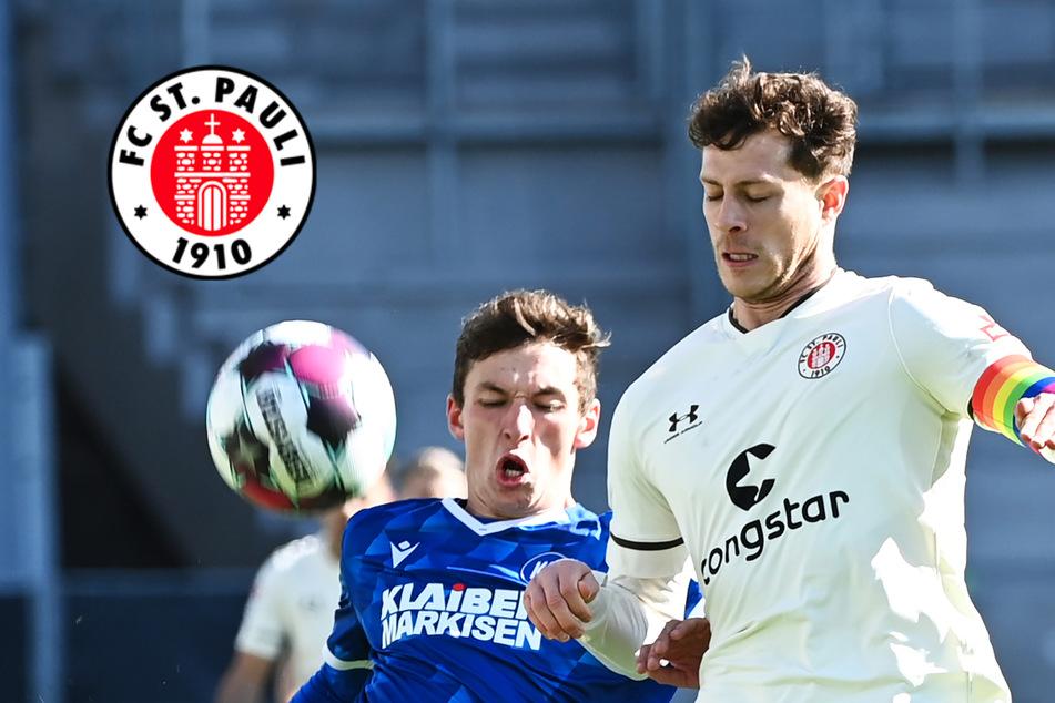"""""""Solche Spiele gehören dazu"""": FC St. Pauli trotz Remis gegen den KSC zufrieden"""
