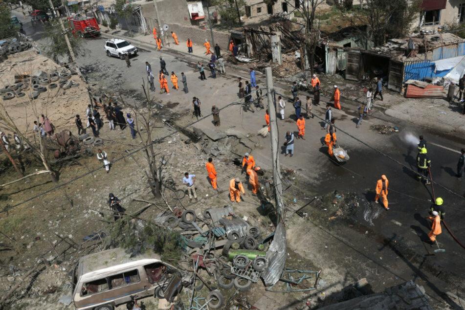 Viele Tote nach Mordanschlag auf Afghanistans Vizepräsident
