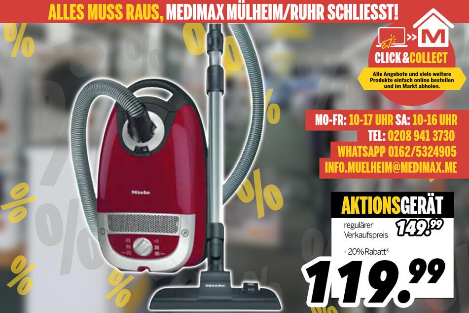 Bodenstaubsauger von Miele für 119,99 Euro
