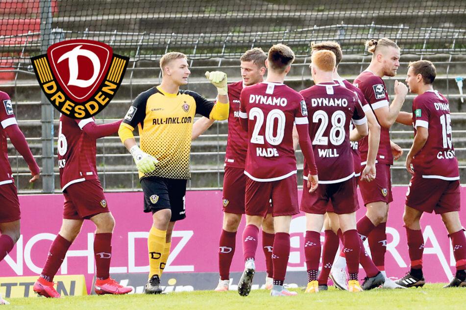Dynamo gefordert: Vier Siege gegen die letzten Vier, jetzt geht es gegen die besten Drei!