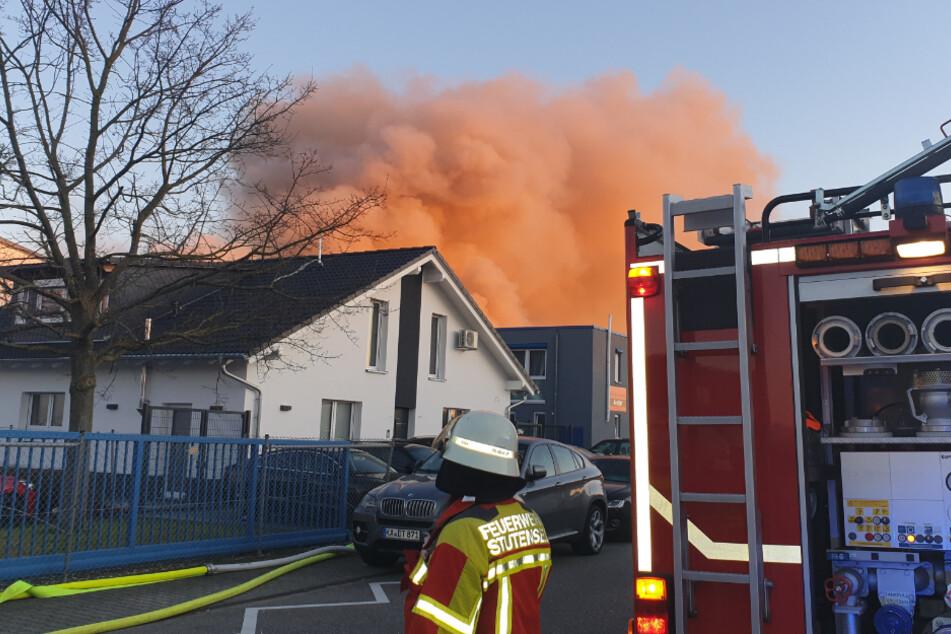 Erst nach über vier Stunden konnte das Feuer gelöscht werden.