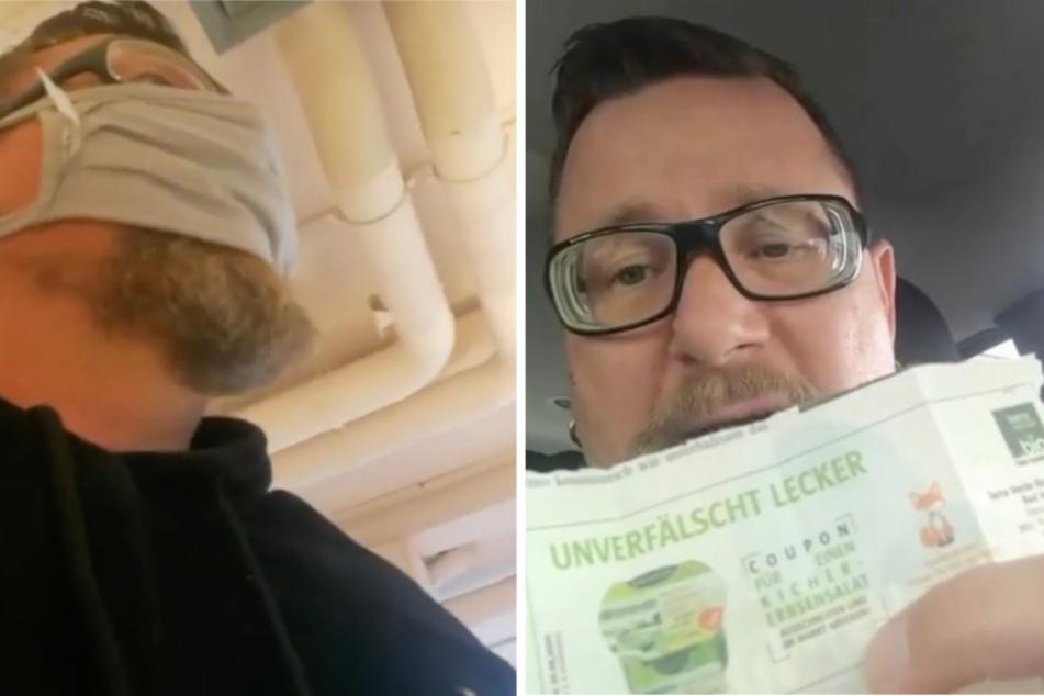 """""""Exklusivstory"""": Mundstuhl-Lars auf geheimer Mission im Supermarkt"""