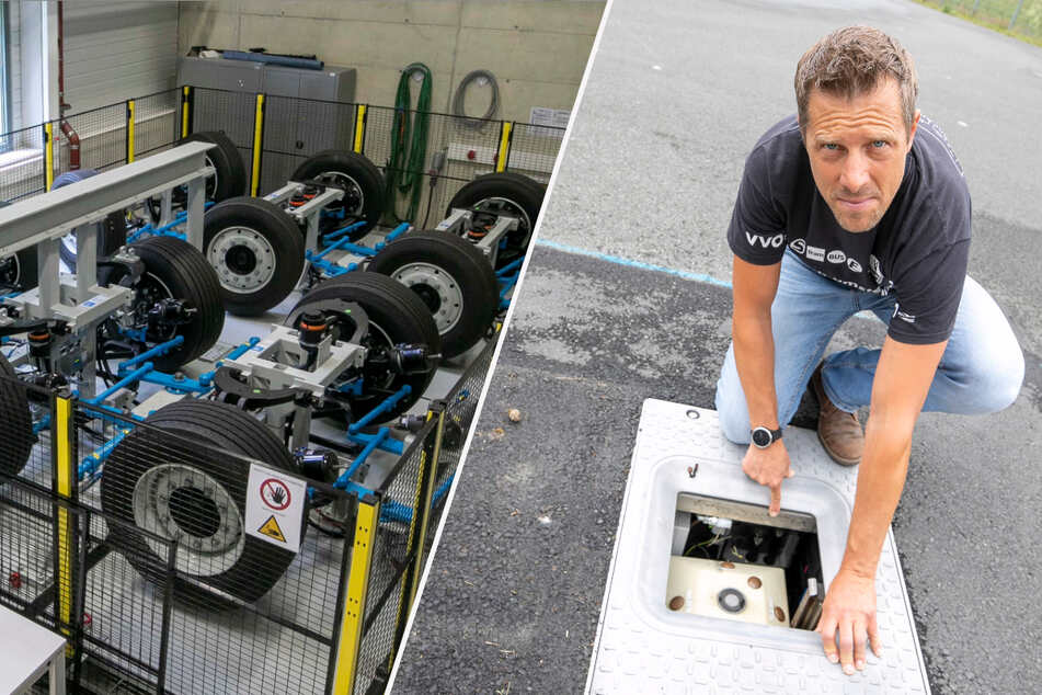 Autonomes Fahren: Hier proben Dresdner Forscher den Autoverkehr von morgen