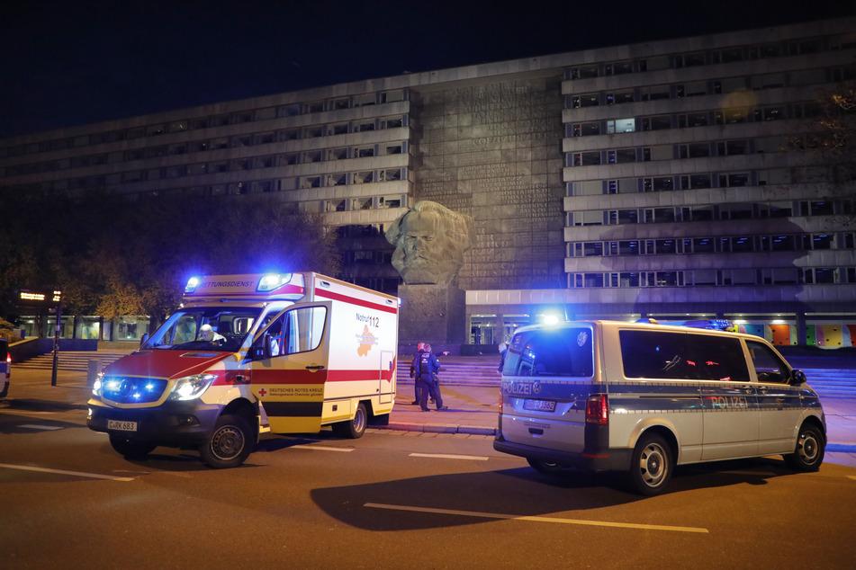 Polizeieinsatz am Nischel in Chemnitz: In der vergangenen Nacht kam es dort zu mehreren Schlägereien (Archivbild).