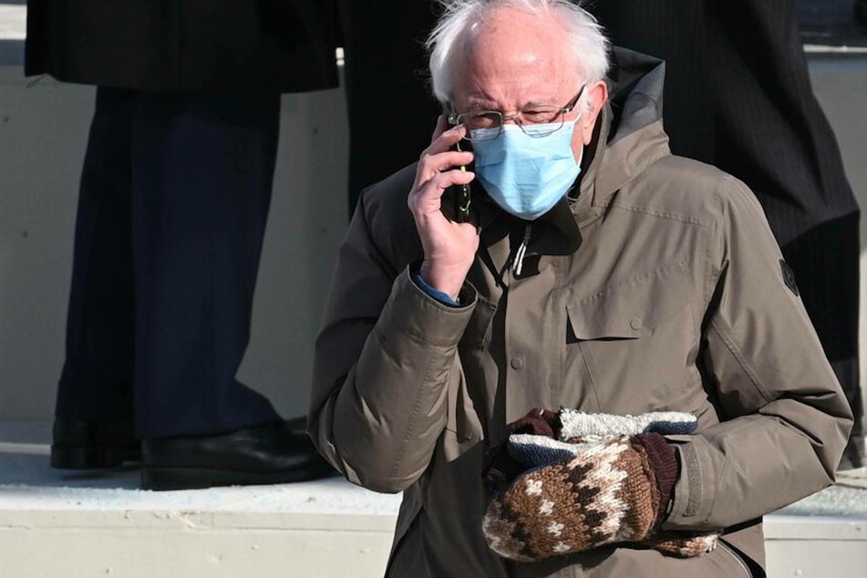 Bernie's mitten memes help raise millions for charity