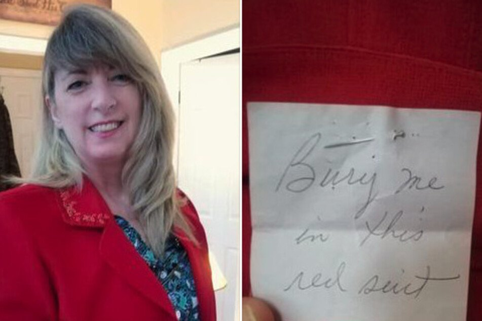 Woman buys secondhand blazer and makes mysterious discovery in pocket
