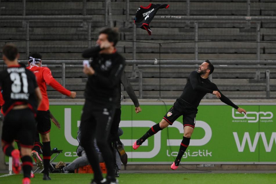 Gonzalo Castro jubelt nach seinem Sieg-Treffer zum 3:2 (90.+3).