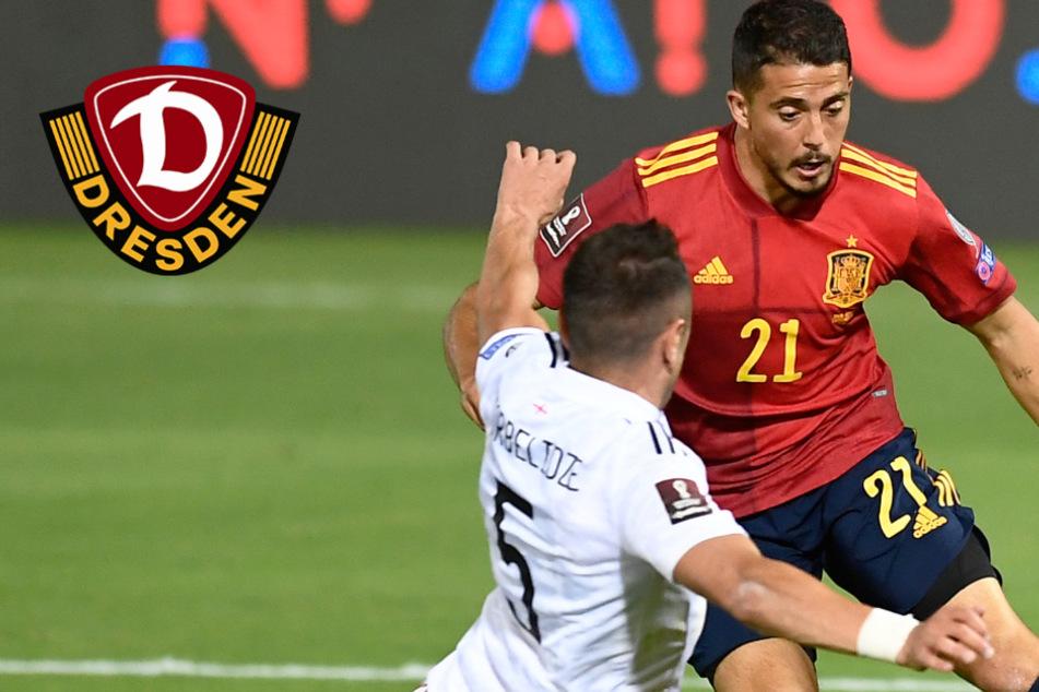Dynamo-Neuzugang auf Länderspielreise: Klare Niederlage gegen Spanien