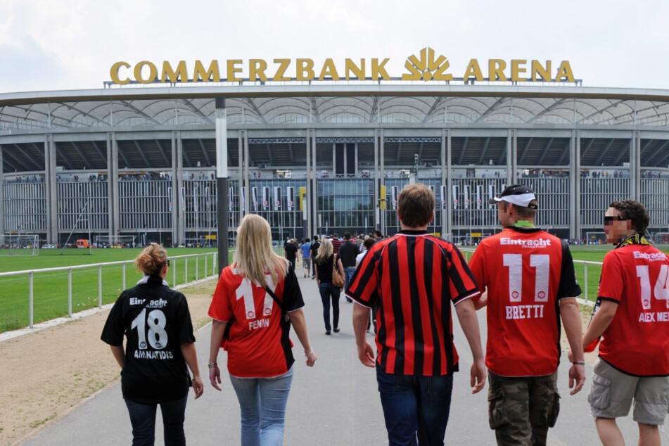 Bericht über Namensänderung: Pilgern die Fans von Eintracht Frankfurt künftig zu einer anders benannten Arena?