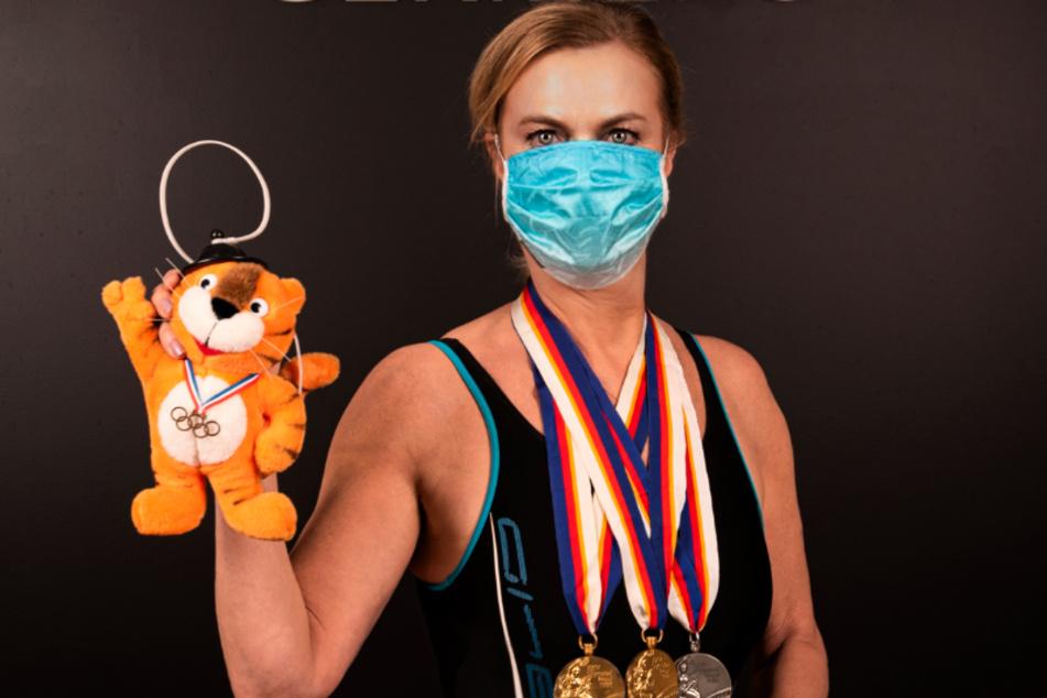 Schwimm-Olypiasiegerin Heike Apitzsch-Friedrich (49)