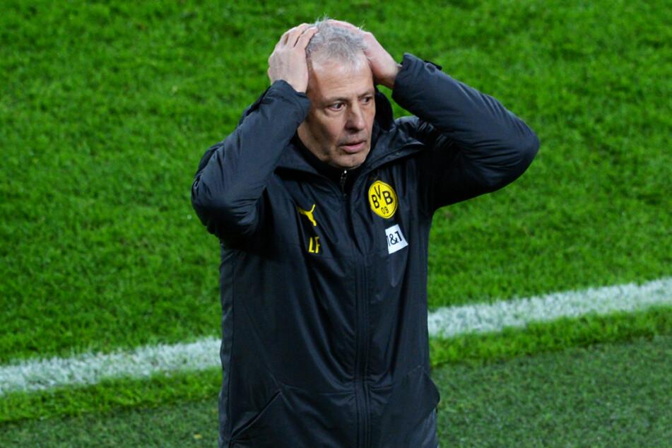 BVB-Coach Lucien Favre (63) wurde in den sozialen Medien von den eigenen Fans kritisiert.