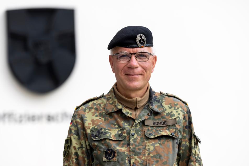 Brigadegeneral Olaf Rohde (55) lehrt die künftigen Soldaten Teamgeist und ethische Werte.
