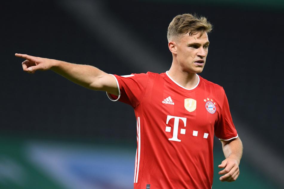 Joshua Kimmich (26) soll laut Medienberichten bis 2026 beim FC Bayern München bleiben.