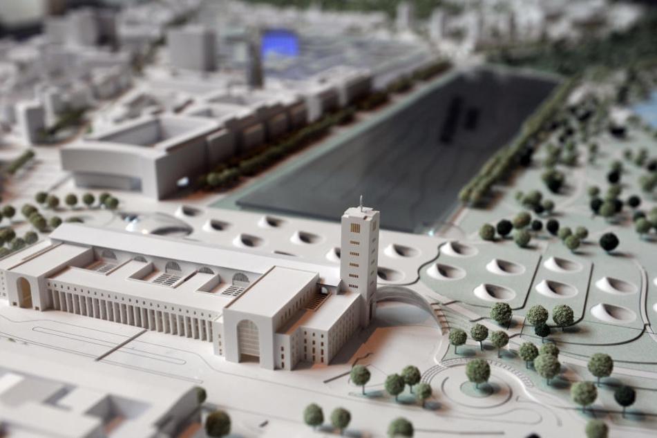 """Das Milliardenprojekt """"Stuttgart 21"""" wird voraussichtlich wegen dem Flughafenhalt umgeplant."""