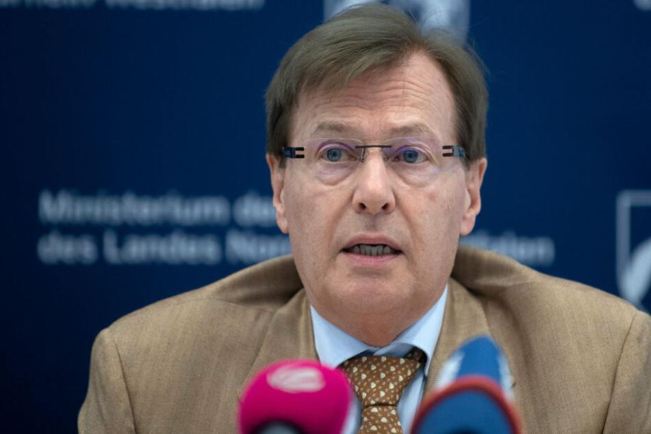 NRW-Justizminister Peter Biesenbach (71).